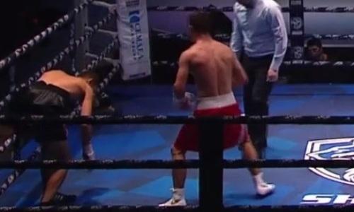 Вечер бокса в Москве с боем Фирузы Шариповой начался с нокаута россиянина