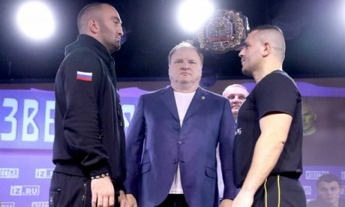 Мурат Гассиев перевесил соперника перед дебютом в тяжелом весе