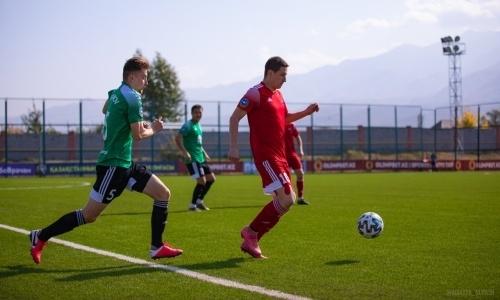 «Атырау» уступил «Акжайыку» в матче Первой лиги