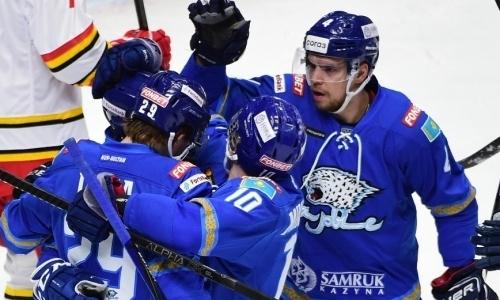 Без вопросов. «Барыс» разнес рижское «Динамо» в матче КХЛ