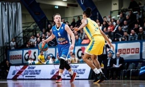 «Астана» обыграла «Калев» в матче ВТБ