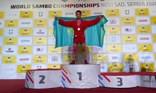 Казахстанец завоевал «золото» на чемпионате мира по самбо среди молодежи