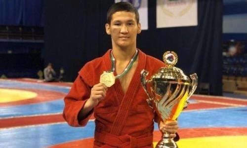 Казахстанский самбист стал призером чемпионата мира в Сербии