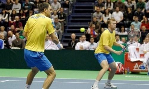 Казахстанские теннисисты стартовали с побед в парном разряде турнира в США