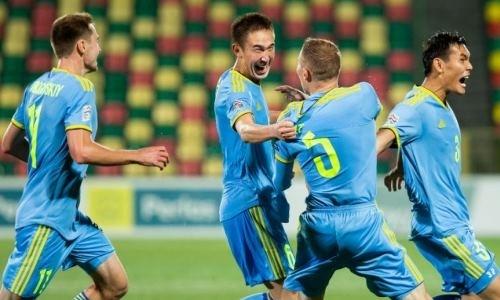 «Невероятно». Гол сборной Казахстана выдвинут на звание лучшего в году