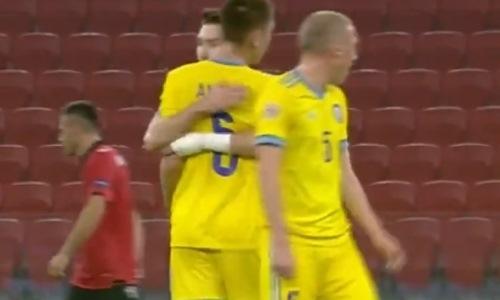 УЕФА смакует шикарный гол сборной Казахстана с центра поля со всех ракурсов. Видео