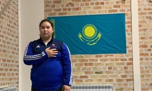 Казахстанка признана лучшей спортсменкой юношеского Кубка мира по тяжелой атлетике