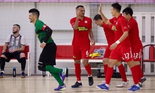 «Кайрат» разнес «Байтерек» в матче чемпионата Казахстана