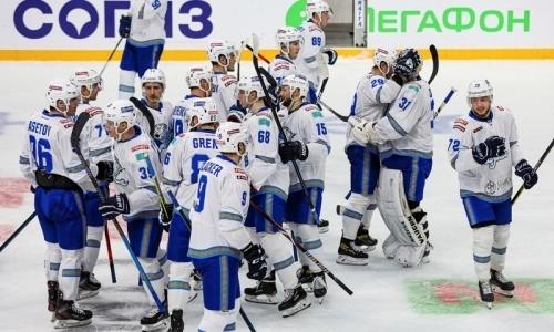 «Барыс» обнародовал состав на выездные матчи КХЛ с «Салаватом Юлаевым» и СКА