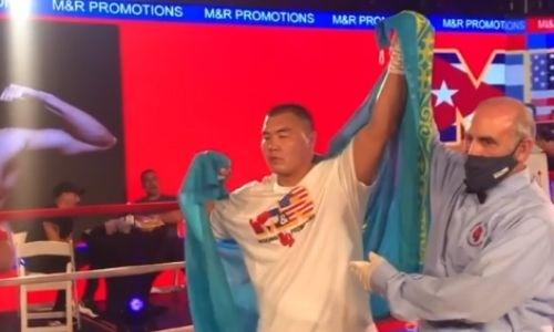 «Я думал, он даст мне бой». Вырубивший мексиканского супертяжа за 43 секунды нокаутер из Казахстана остался разочарован