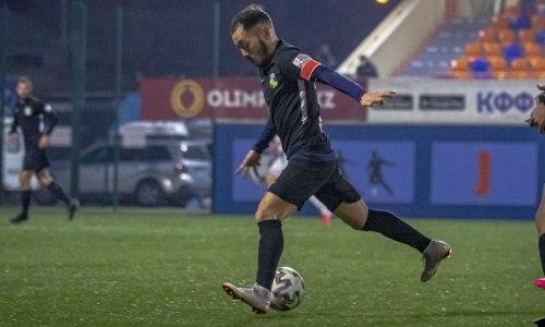 «Каспий» победил «Окжетпес» в матче за выживание КПЛ-2020