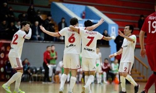 «Актобе» одержал волевую победу над «Нур-Султаном» в матче чемпионата РК