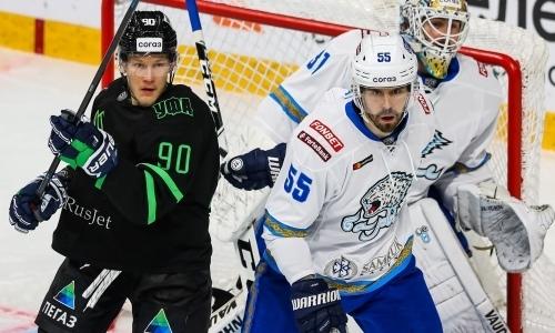 Прямая трансляция выездного матча «Барыса» против «Салавата Юлаева» в КХЛ