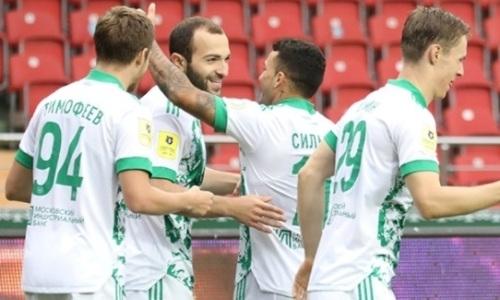 Клуб игрока сборной Казахстана вырвал ничью у «Зенита» в матче с пенальти и удалением