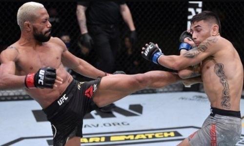 Видео полного боя Дейвесон Фигейредо — Алекс Перес за титул чемпиона UFC