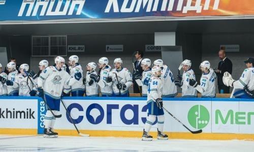 «Барыс» объявил состав на выездной матч КХЛ с «Салаватом Юлаевым»