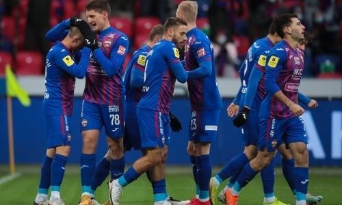 Зайнутдинов после травмы признан одним из лучших игроков ЦСКА в матче РПЛ