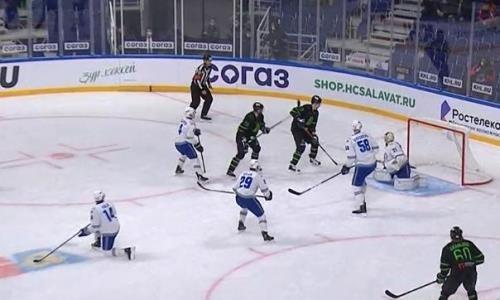 Видеообзор матча КХЛ, или Как «Барыс» крупно проиграл «Салавату Юлаеву»