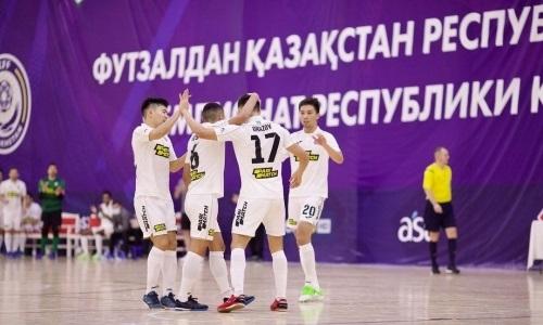 «Кайрат» без особых проблем разобрался с «Каспием» в матче чемпионата РК