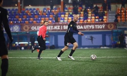 «Во главе стоял результат, а не просто зрелищность». Защитник «Каспия» остался недоволен игрой с «Окжетпесом»