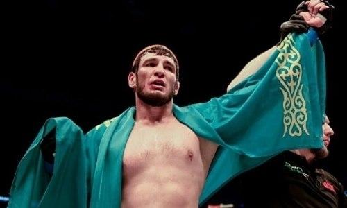 Казахстанский файтер Егембердиев рассказал о своем ближайшем сопернике в UFC. Видео