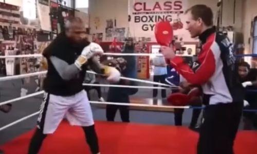 Рой Джонс показал крутую скорость на неделе боя с Майком Тайсоном. Видео