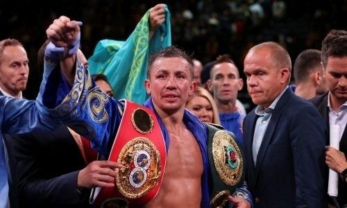 «Больше, чем два великих боксера всех времен сразу». Названо уникальное достижение Головкина