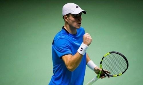 Казахстанский теннисист вышел во второй круг турнира в Бразилии