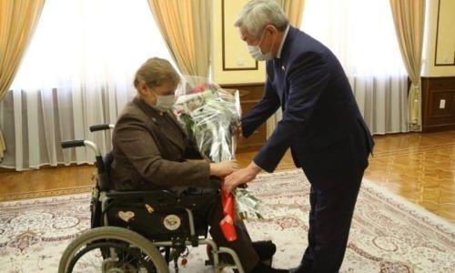 Паралимпийская чемпионка получила поздравление с юбилеем от имени Президента Казахстана