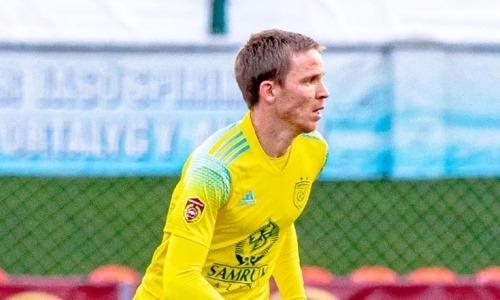 Томасов набрал 100 результативных действий в футболке «Астаны»