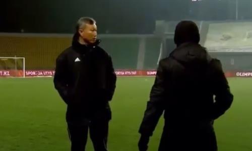 Появилось видео удаления разъяренного наставника «Жетысу» в матче КПЛ