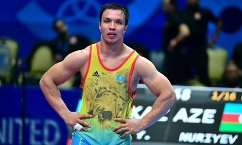 Определены призеры чемпионата Казахстана по греко-римской борьбе
