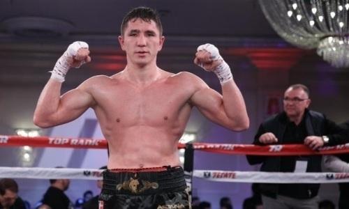 «Я готов к войне». Казахстанский боксер показал свою тренировку перед боем с непобежденным американцем. Видео