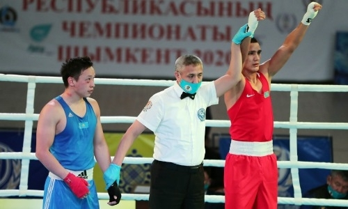 «Золотая молодёжь» идёт к финалам. Определились первые полуфиналисты чемпионата Казахстана по боксу