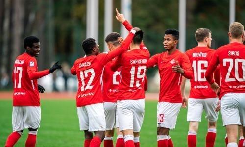 Европейский клуб казахстанского форварда уничтожил соперника сосчетом 7:0