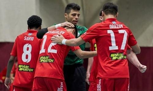 «Кайрат» забил 11 голов в матче чемпионата Казахстана с двумя хет-триками