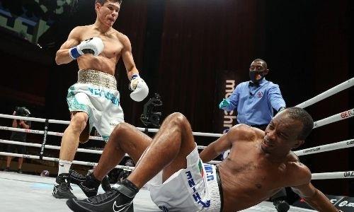 «Его манера боксировать — это не каждому дано». Виктор Демьяненко оценил первую титульную победу Данияра Елеусинова