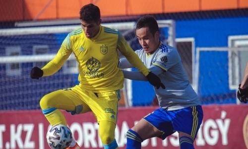 Защитник «Жетысу» не сыграет против «Каспия»