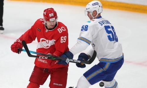 Где смотреть трансляцию матча КХЛ «Барыс» — «Спартак»