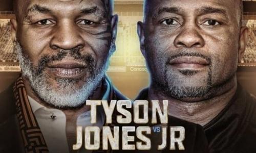 Майк Тайсон — Рой Джонс: прямая трансляция боя легенд