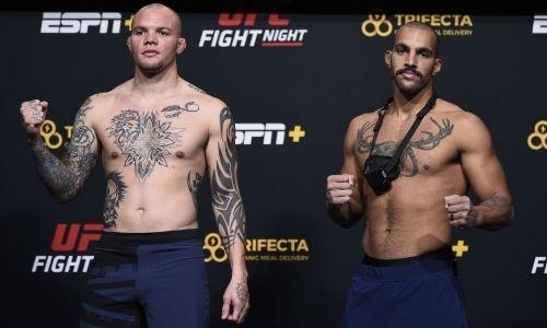 Прямая трансляция турнира UFC on ESPN 18 с главным боем Смит — Кларк