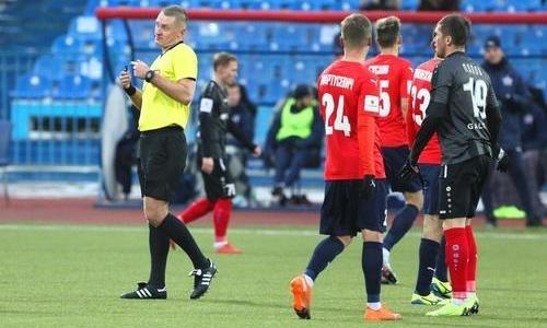 Клуб казахстанского футболиста крупно проиграл в чемпионате России