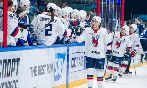 Соперник «Барыса» по КХЛ потерпел поражение, позволив казахстанскому клубу сократить отрыв в чемпионате