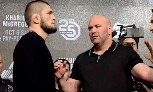 «Верю, что вернется». Президент UFC раскрыл сроки и место встречи с Хабибом Нурмагомедовым