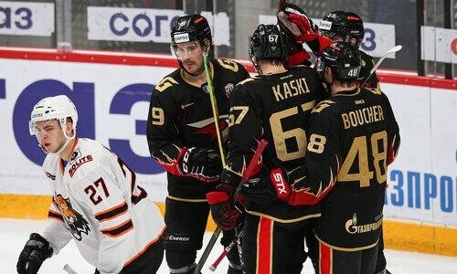 Сразу два хоккеиста принципиального соперника «Барыса» были признаны лучшими игроками недели КХЛ