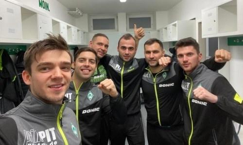 Европейский клуб с казахстанцем в составе победил в очередном туре в Бундеслиге настольного тенниса
