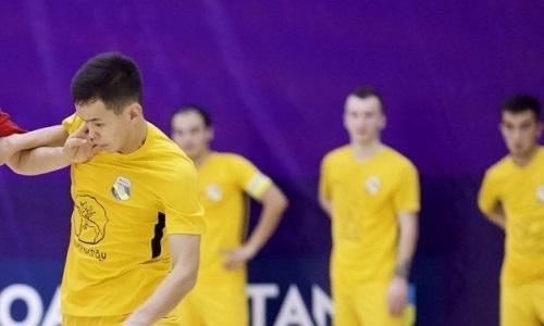«Каспий» обыграл «Окжетпес» в матче чемпионата РК