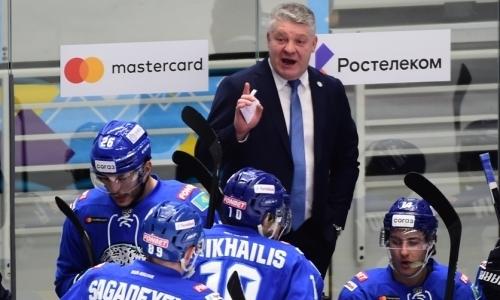 Юрий Михайлис высказался про ошибки хоккеистов «Барыса» и главного героя матча с «Сочи»