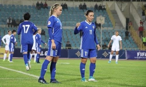 Женская сборная Казахстана поражением со счетом 0:12 завершила отбор на ЕВРО-2021