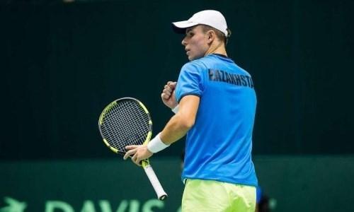 Казахстанский теннисист с трудом пробился во второй круг турнира в Бразилии